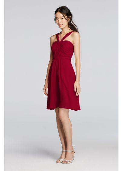 strapless chiffon short dress style f12284 | Luxury Hotels In ...