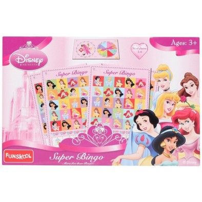 Get Disney Princess Super Bingo Funskool Toys Online with free shipping in India only from toygully.com. Browse Toygully for innovative kid's products by Funskool Brand http://www.toygully.com/190-funskool