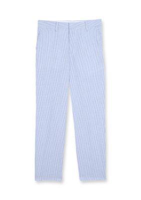 Izod Boys' Seersucker Pants Boys 8-20 - Medium Blue - 10