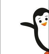 Pinguin Paul Printable