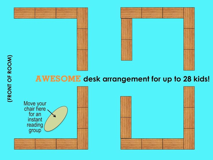 Modular Seating Arrangement Classroom ~ Best ideas about desk arrangements on pinterest