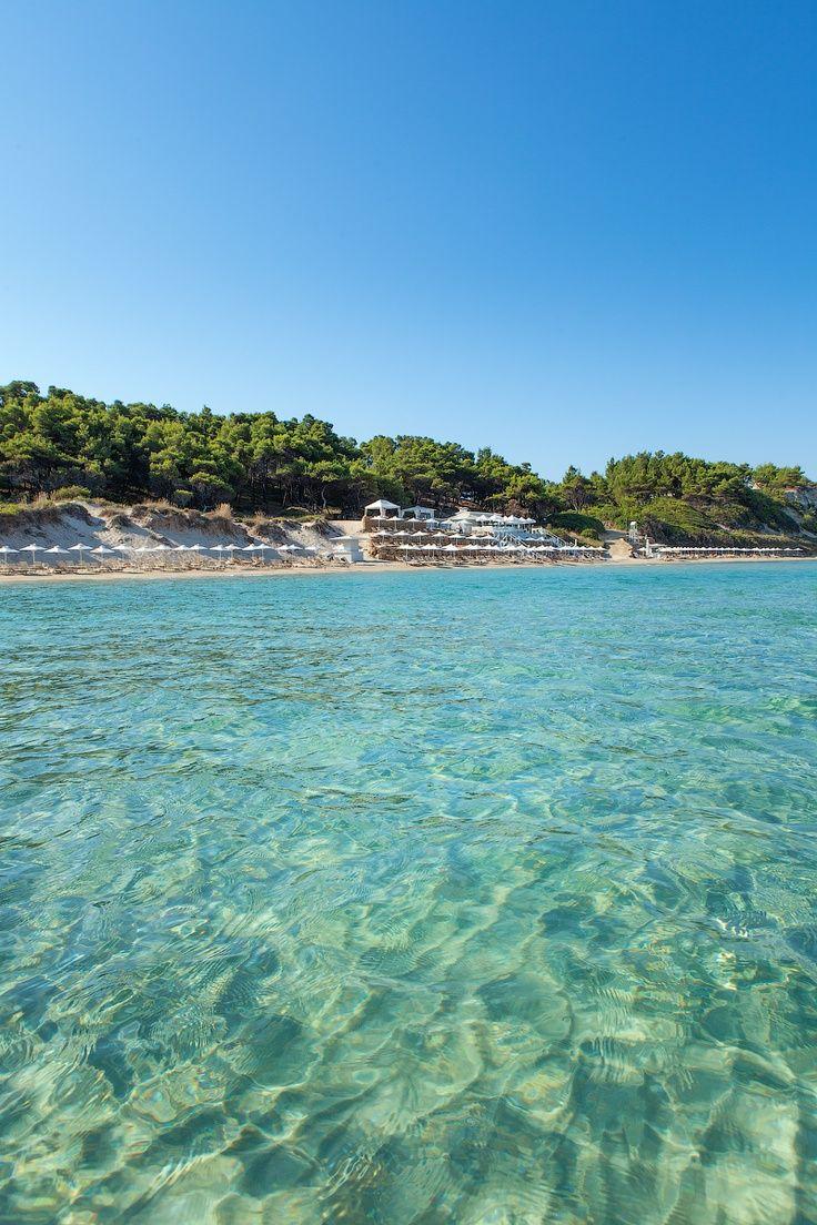 Thessaloniki Beach Boussoulas Beach Sani Resort Halkidiki Near Thessaloniki Hellas