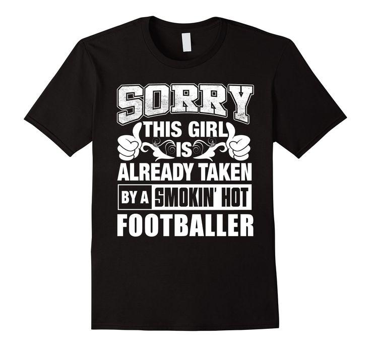 Footballer Shirt - Cool Shirt for Footballer Girlfriend >> Click Visit…