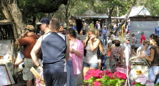 It's the second largest flea market in Texas held in Wimberley on the first Saturday of each month March through December, from 7 AM to 4 PM. First Monday Trade Day in Canton is, without a doubt, the largest flea market in Texa!