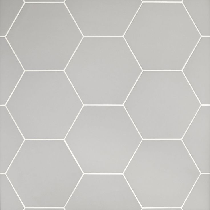 Opal Gray Hexagon Porcelain Tile Room Tiles Bathroom