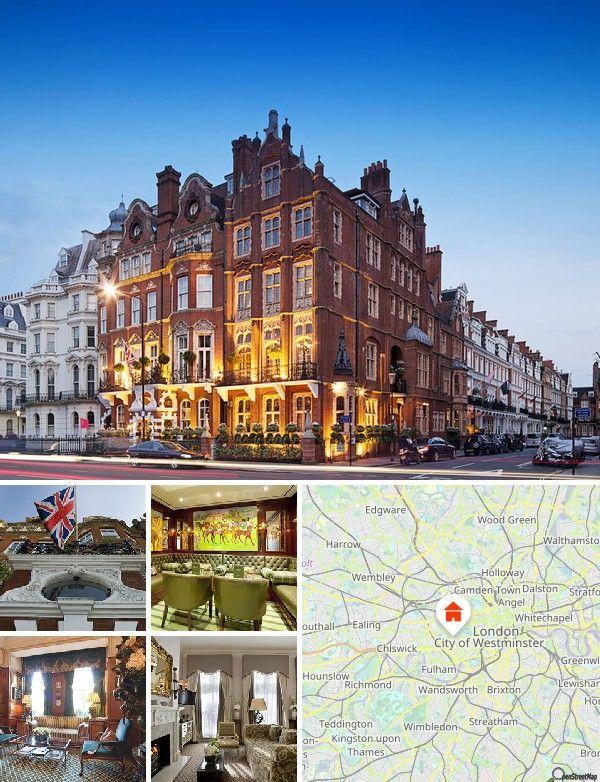 Cet hôtel situé en plein cœur de Londres a vue sur le palais de Kensington.