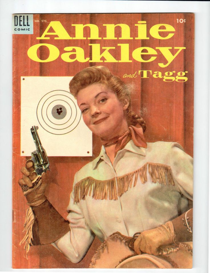 Citaten Annie Xxi : Dell publishing annie oakley and tagg vintage