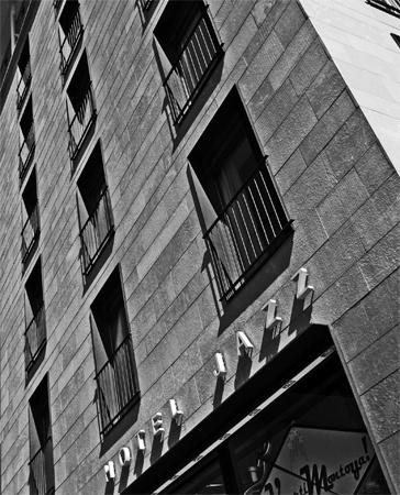 Hotel Jazz, Barcelona, Spain.  JosHermans@FTWRK