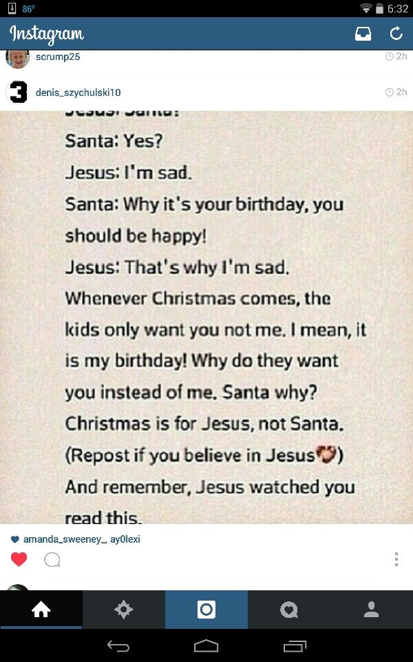 Christmas should be all about Jesus. Not gifts, not trees, not food, not decorations. While all those things are lovely, Jesus should be our primary focus at Christmas. After all, He came to earth to give the greatest gift of all: His life. The least we can do is make Christmas - and every day - all about Him.