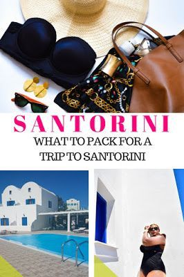 Beach Vacation Packing List - The Ultimate Packing Checklist For Your Next Trip to Santorini