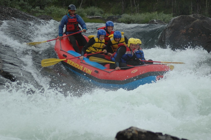 White water rafting is an amazing nature experience
