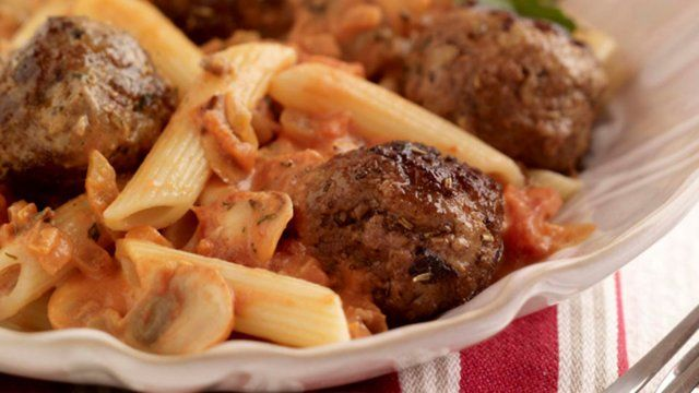 Homemade Meatballs recipe from chef Kevin Dundon