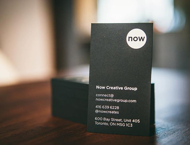 Hello! We're #NowCreativeGroup and we create things — obvious things like…