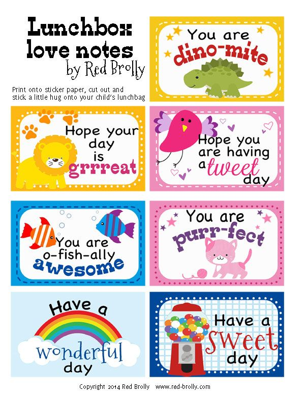 Here's a little lunchtime love for you little one. Print onto cardstock or sticker paper, cut out and place them into your child's lunch box and give your child a boost to their day. If printing onto sticker paper- stick a little love onto their lunch bags or treats. It's like giving them a little …