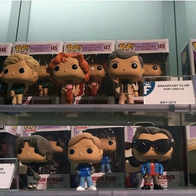 Don't you.. forget about these My most wanted series out of the leaks on Wednesday is The Breakfest Club!! #toyfair #funkotoyfair #funko #popfanboys