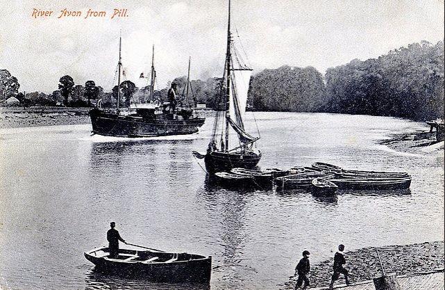 River Avon From Pill