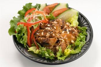 Slowcooker Caramel Glazed Chicken