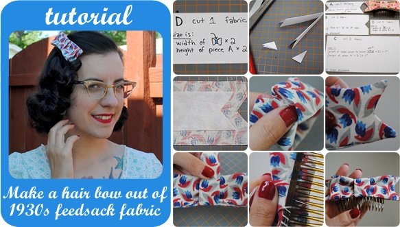 how to make a hair bow out of fabric