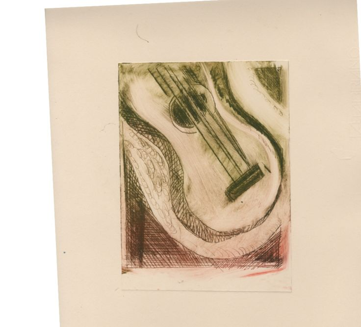 Dry Point Printing
