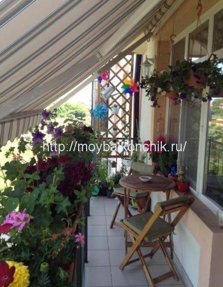 маркиза для балкона