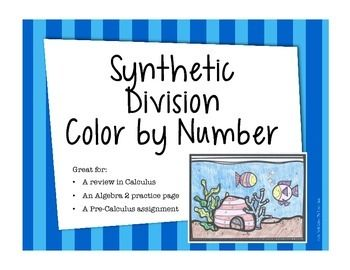 Synthetic Division Worksheet   Offf
