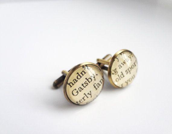 gatsby cufflinks