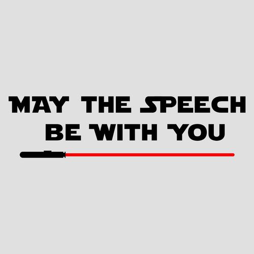 May the Speech be with you. Star Wars Speech Therapy shirt, mug, hoodie, tote bag.