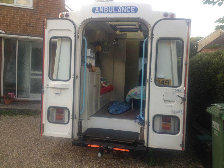Tax Exempt Vintage Bedford London Ambulance Camper Conversion PX