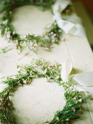 Flower Girl Wreaths | photography by http://mastinstudio.com/