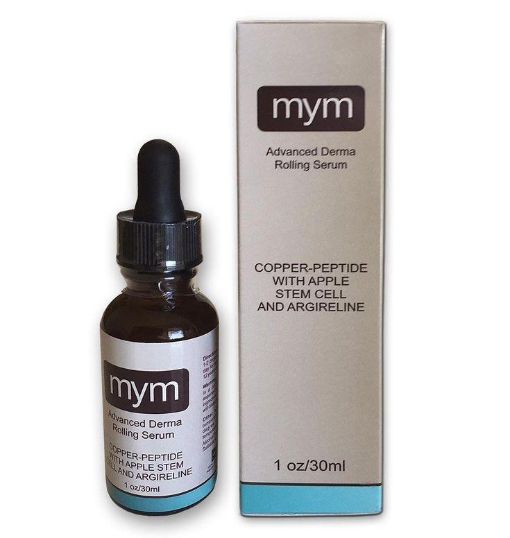 Copper Peptide Serum Derma Roller Intensive Skin Care Serum Made in USA
