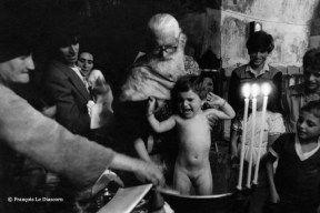 "François Le Diascorn.""A vanishing world in Karpathos Greece"". Orthodox Greek Baptism in Olympos village https://francoislediascorn-us.com/portfolios"