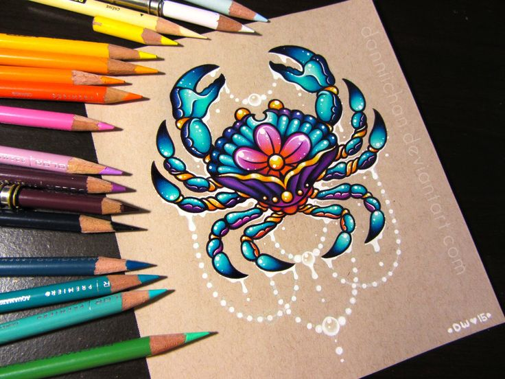 Cancer the Crab - Commission by danniichan.deviantart.com on @DeviantArt