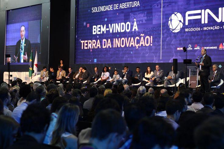 Na primeira semana de novembro, ocorreu em Belo Horizonte a Feira Internacional de Negócios, Inovação e Tecnologia – FINIT.