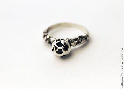 """Кольца ручной работы. Ярмарка Мастеров - ручная работа. Купить кольцо из серебра """"Метеорит"""". Handmade. Серебряное кольцо, серебряный, космос"""