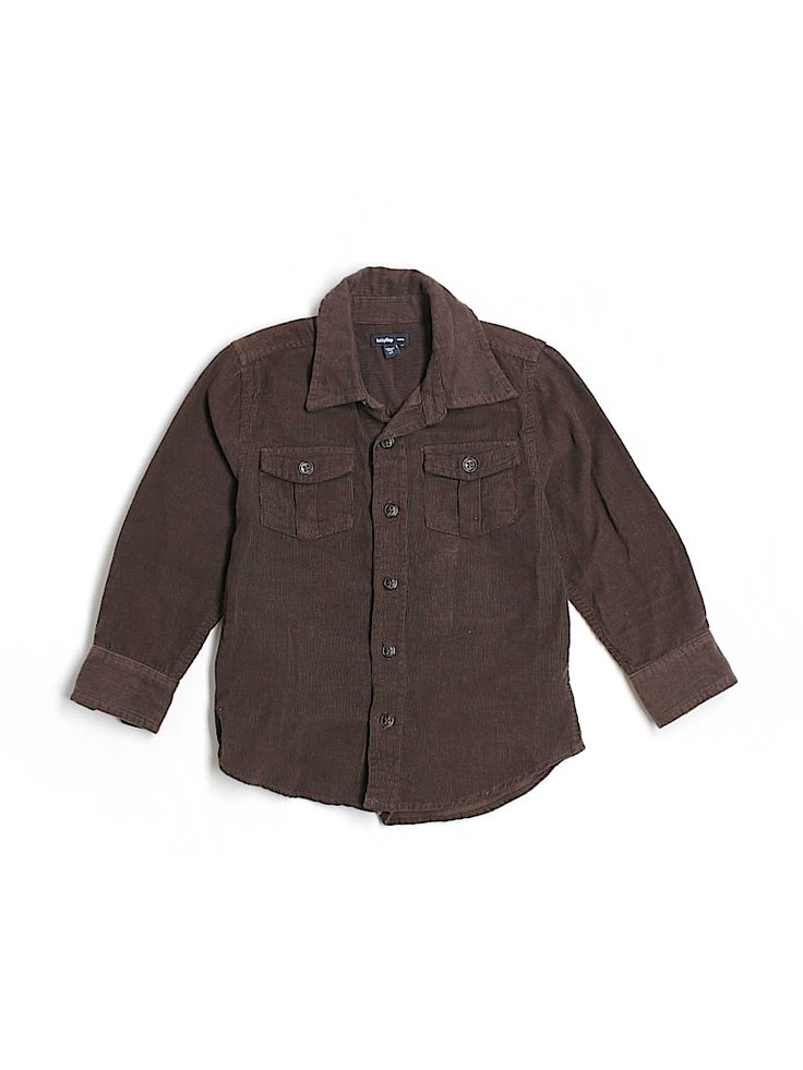 Check it out - Baby Gap Outlet Long Sleeve Button Down for $5.99 on thredUP!