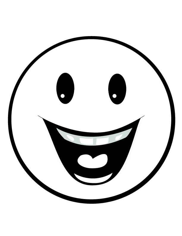 Best 25 free smiley faces ideas on pinterest happy emoticon smiley face i - Smiley noir et blanc ...
