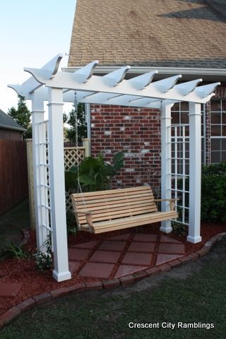 10 Perfect Pergola Projects For the ranch.