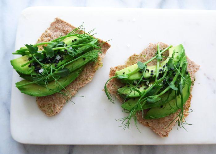 Avocado for breakfast (or lunch!)