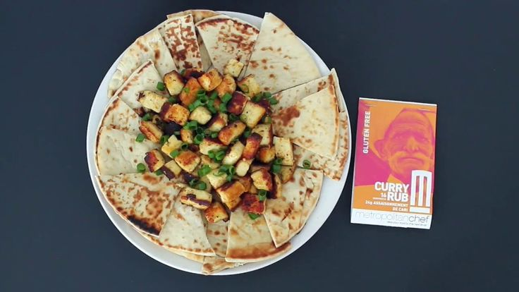 METROPOLITAN CHEF PRESENTS CURRIED PANEER WITH OUR CURRY RUB!