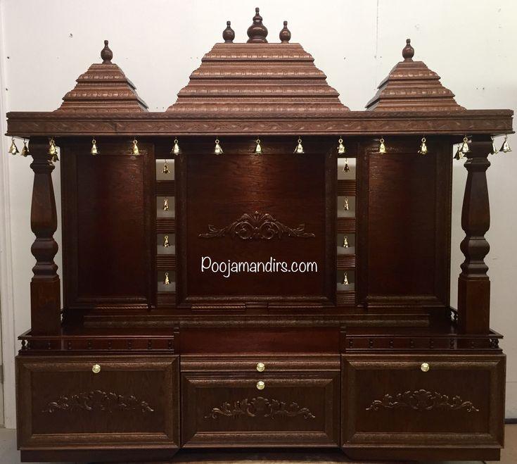 Pooja Mandirs USA - Dhanishta Collection - Open Models
