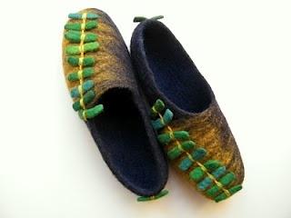 Lovely slippers - Donatos tekstile