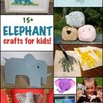 Elephant Crafts for Kids - Fun Family Crafts