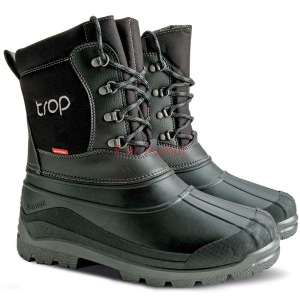 Obuwie Mysliwskie Czarne Buty Zimowe Z Wkladem Wymiennym Demar Trop 2 B Shoes Boots Winter Boot