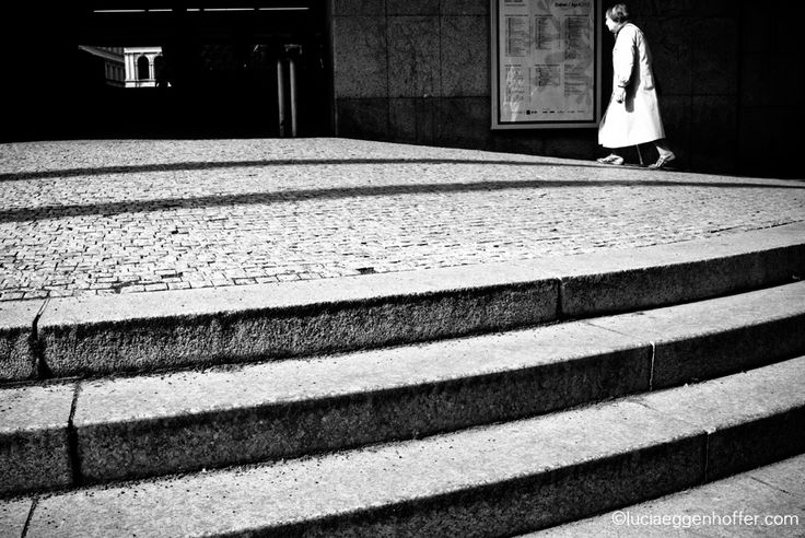 She's like a note on the music staff of the day | Prague, Czech Republic | © lucia eggenhoffer
