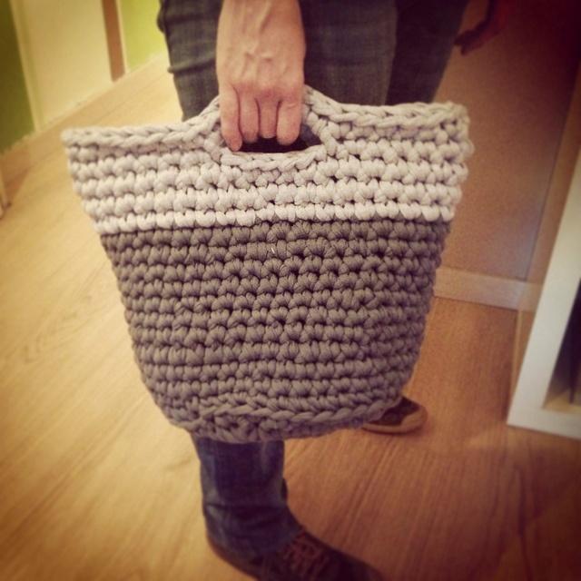 Primer cesto de crochet listo! by Baldufa77, via Flickr