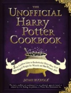 The Unofficial Harry Potter Cookbook contains many interesting themed recipes including Cauldron Cakes, Pumpkin Juice and Treacle Tart. It's a must have for every Harry Potter fan.