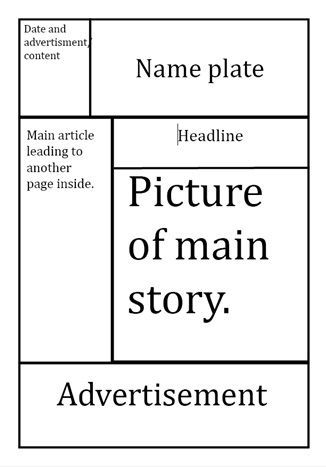 Best 20+ Newspaper Format Ideas On Pinterest | Newspaper Layout