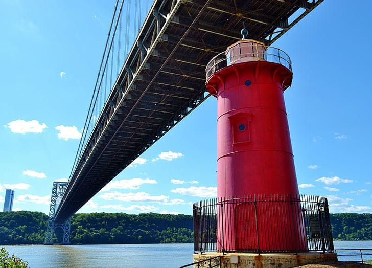 NY fort washington guide red lighthouse LIST