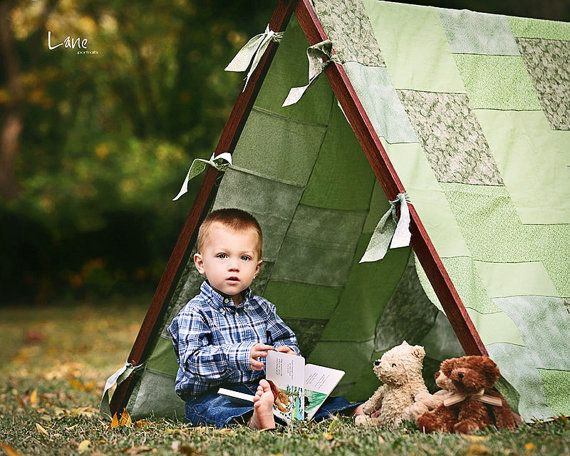 Photography Props Tent Frame and Patchwork by NewbornPhotoProp, $130.00