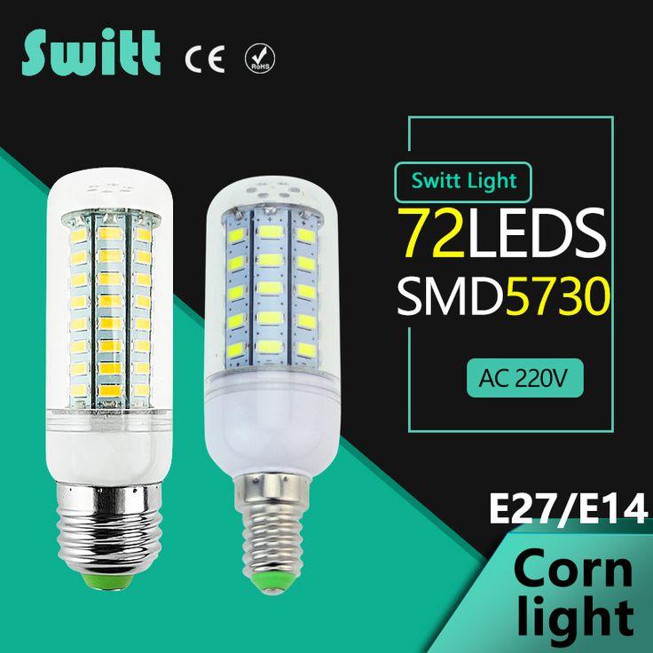 $0.22 (Buy here: https://alitems.com/g/1e8d114494ebda23ff8b16525dc3e8/?i=5&ulp=https%3A%2F%2Fwww.aliexpress.com%2Fitem%2FHigh-Power-220v-240v-LED-Lamp-corn-bulb-Spotlight-SMD-5730-lampada-led-E27-lamparas-9W%2F32637576147.html ) High Power 220v 240v LED Lamp corn bulb Spotlight SMD 5730 lampada led  E27 lamparas 9W 12W 15W 18W 20W Warm Cold white for just $0.22